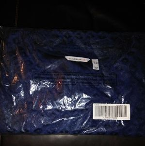 Isaac Mizrahi Dress Stretch Lace, Blue, 3X